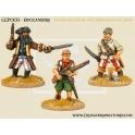 Crusader Miniatures CCP003 Pirates - Buccaneers