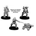 Crusader Miniatures CCP008 Pirate cannon and Crew