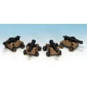 Crusader Miniatures CCP009 Ships Cannons