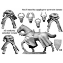 Crusader Miniatures MCF042 Dismounted Teutonic Knights with Big Weapons