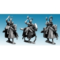 Crusader Miniatures MCF045 Mounted Teutonic Knights with Axes and Maces