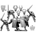 Crusader Miniatures MCF046 Mounted Teutonic Knights with Swords