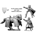 Crusader Miniatures MCF020 Knight bearing banner