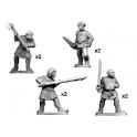 Crusader Miniatures MCF032 Paysans et pélerins