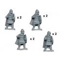 Crusader Miniatures DAB006 Guardes varangiens avec lances