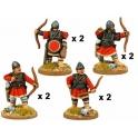Crusader Miniatures DAB012 Archers byzantins en armure