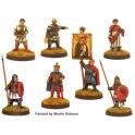 Crusader Miniatures DAB100 Byzantine Emperor and Retinue