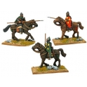 Crusader Miniatures DAB105 Tagmatic Kataphraktoi with Kontos/Spears