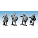 Crusader Miniatures AFS003 Saxon Warriors with Spears