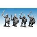 Crusader Miniatures AFS004 Saxon Noble Warriors with Swords