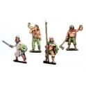 Crusader Miniatures DAI005 Irish Warrior Command