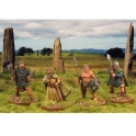 Crusader Miniatures DAI010 Irish Chieftains & Champions