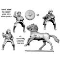 Crusader Miniatures DSC006 Guerriers écossais à cheval