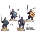 Crusader Miniatures DAE001 Spanish Spearmen in Mail