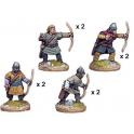 Crusader Miniatures DAE003 Unarmoured Spanish Archers