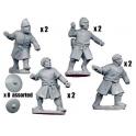 Crusader Miniatures DAE004 Spanish Javelinmen