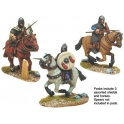 Crusader Miniatures DAE006 Spanish Knights in Mail with Spears