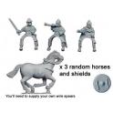 Crusader Miniatures DAE008 Spanish Light Cavalry Command