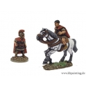 Crusader Miniatures ANR015 Republican Roman General (Foot & Mounted Versions)