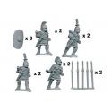 Crusader Miniatures ANR008 Principes/Triari with Pila/Spear