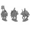 Crusader Miniatures ANR011 Unarmoured Roman Cavalry Command