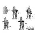 Crusader Miniatures ANC005 Veteran Spearmen