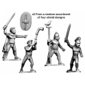 Crusader Miniatures ACE005 Ancient Celt Fanatic Command