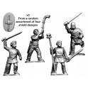 Crusader Miniatures ACE007 Ancient Celt Warrior Command