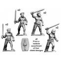 Crusader Miniatures ACE004 Ancient Celt Fanatics
