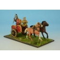 Crusader Miniatures ACE015 Armoured Noble in Chariot I