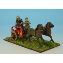 Crusader Miniatures ACE016 Armoured Noble in Chariot II