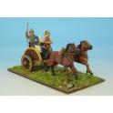 Crusader Miniatures ACE017 Celt Warrior in Chariot I
