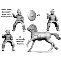 Crusader Miniatures AGE007 German Light Cavalry