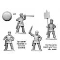 Crusader Miniatures RFA044 Persian Kardakes Command