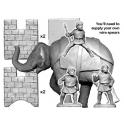 Crusader Miniatures ANN010 Numidian Elephant