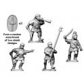 Crusader Miniatures ANS006 Spanish Scutari Command - charging