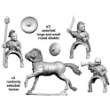 Crusader Miniatures ANS013 Spanish cavalry Command