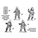Crusader Miniatures ANS040 Celtiberian warriors with spear