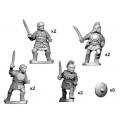 Crusader Miniatures ANS051 Lusitanian warriors with swords