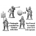 Crusader Miniatures MAC002 Phalangite Command