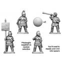 Crusader Miniatures MAC004 Eastern Phalangite Command