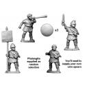 Crusader Miniatures MAC006 Unarmoured Phalangite Command