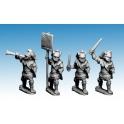Crusader Miniatures MAC008 Macedonian Hypaspists Command