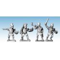 Crusader Miniatures MAC012 Macedonian Light Infantry Command