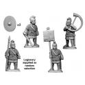 Crusader Miniatures RFA002 Late Roman Legionary Command