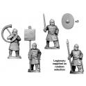 Crusader Miniatures RFA004 Late Roman Legionary Spearmen Command