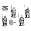 Crusader Miniatures RFA003 Late Roman Legionary Spearmen
