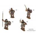 Crusader Miniatures ANT001 Thracian Tribesmen with Spears