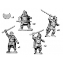 Crusader Miniatures ANT004 Thracian Tribesmen with Rhomphaia
