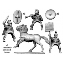 Crusader Miniatures ANT012 Armoured Thracian Cavalry Command